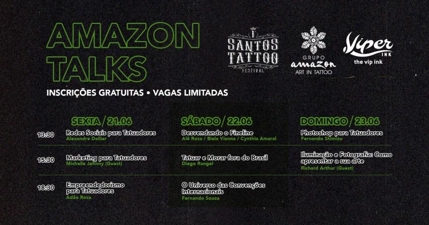 Santos Tattoo Festival Internacional celebra a chegada da tatuagem ao Brasil; confira atrações - Tudo Sobre Tatuagem
