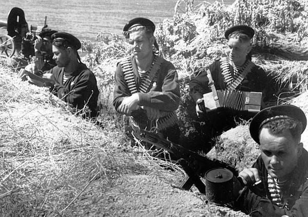 Оборона Одессы ВОВ