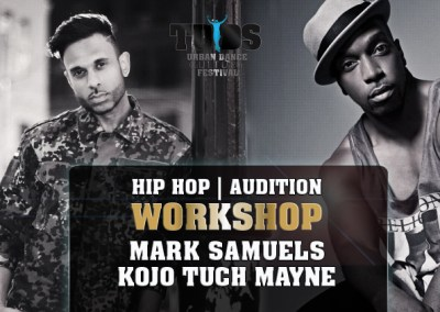 Hip Hop Workshop and Decoy Audition with Mark Samuels and Kojo Tuch Mayne