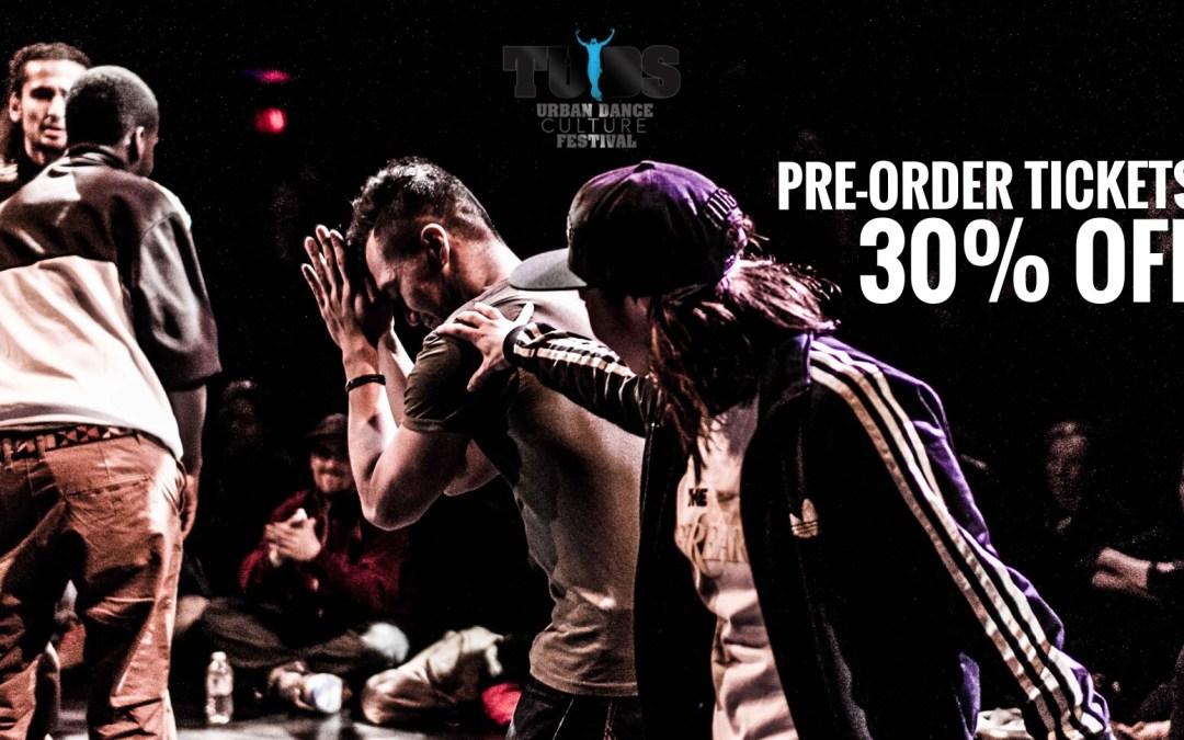 Pre-order TUDS6 Tickets at a price so cheap you'll feel bad about it