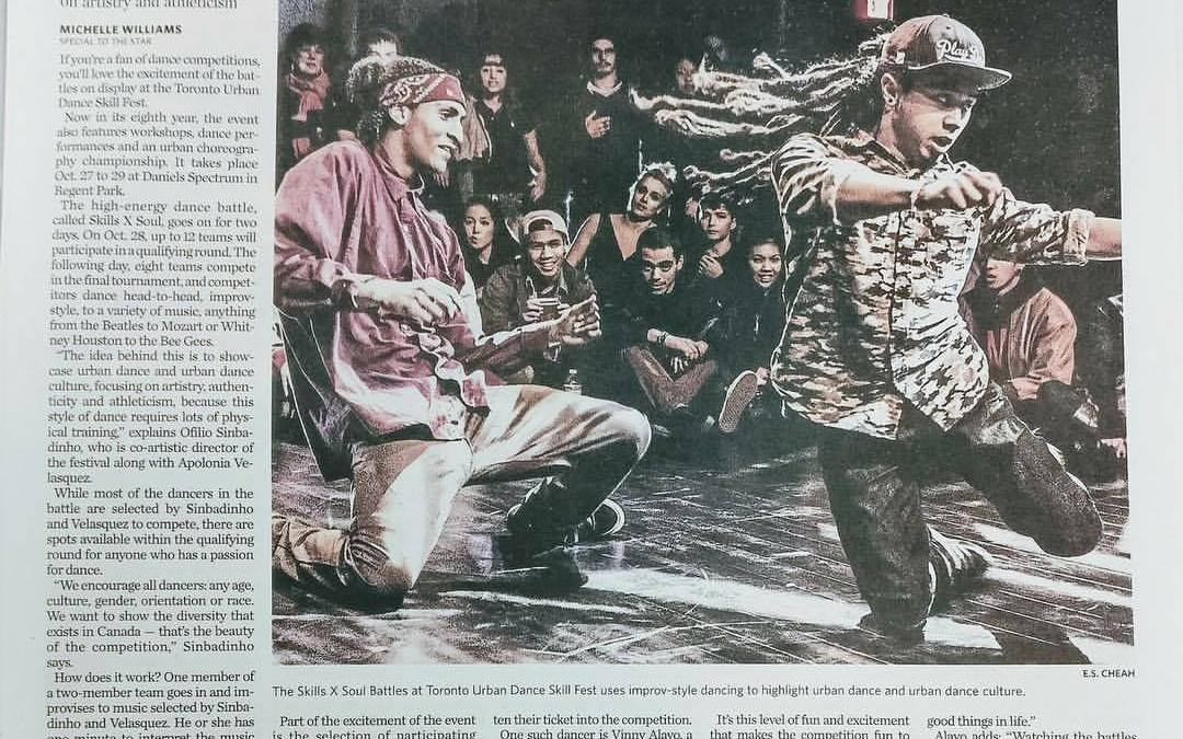 Toronto Star Press Feature on TUDS Festival 2017