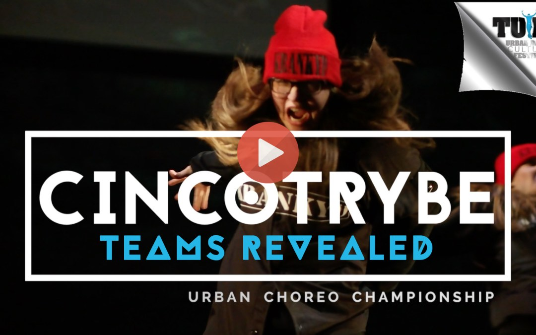 Cincotrybe Crews Revealed – TUDS 2017