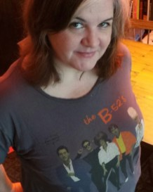 """""""Got this tee at one of a dozen B-52 concerts — not sure which one. My friend Shelly and I have been seeing them since the 80s and its become an almost annual event since they tour so often. And yes, we wear wigs."""""""