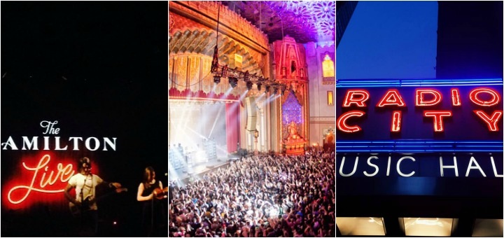 Music Venues Collage