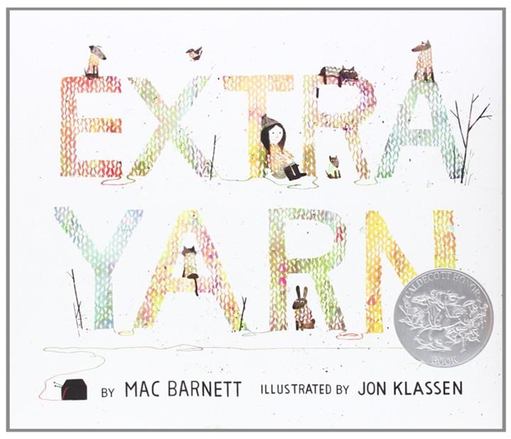 Extra Yarn Mac Barnett Jon Klassen TueNight