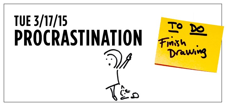 tuenight procrastination editor's note