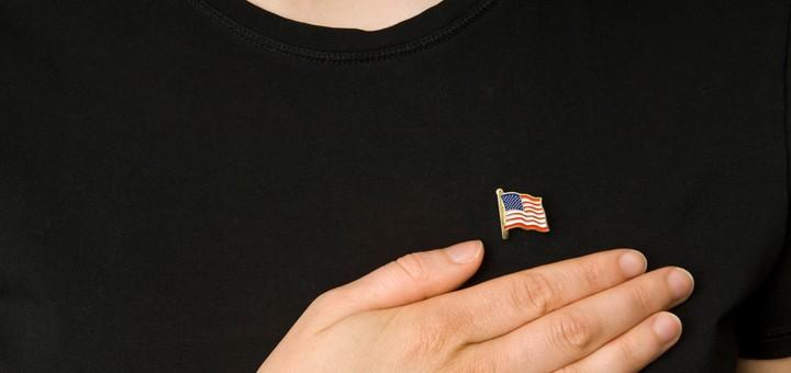 tuenight freedom pledge of allegiance flag