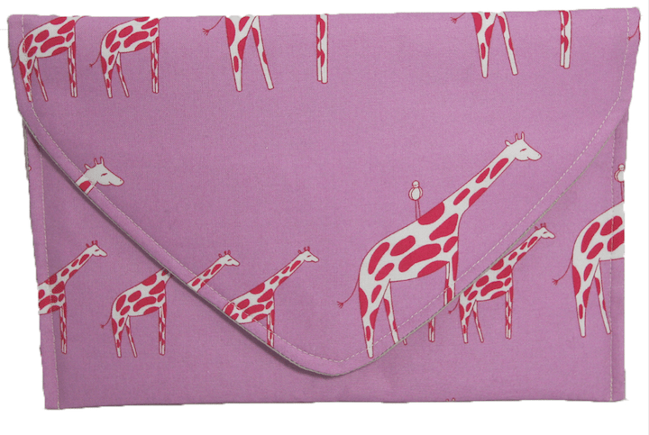 tuenight gift guide adrianna dufay girlfriends giraffe clutch
