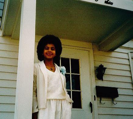 Heather Graham, circa 1986. (Photo credit: Heather Graham)
