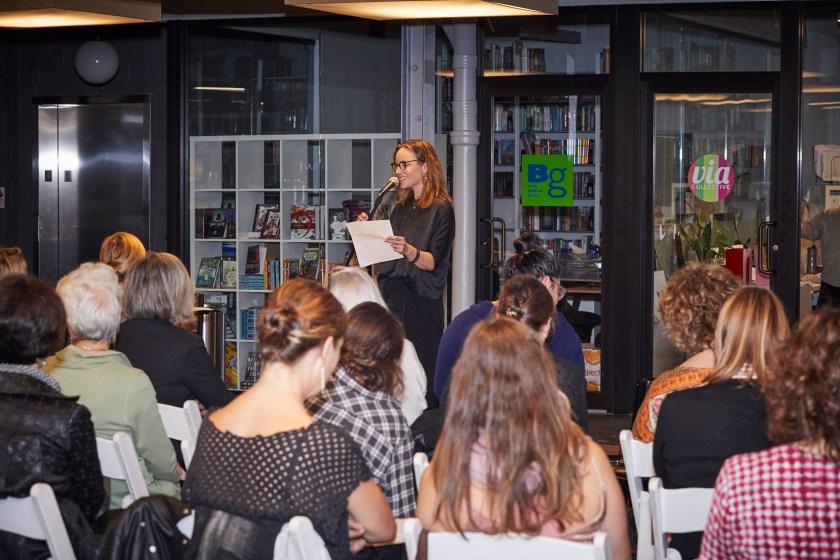 Karen Gerwin introduces Sue Kramer TueNight Live