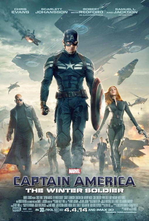 Image result for captain america winter soldier poster