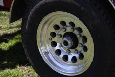 Chrome Wheels for Hoof Trimming Chutes