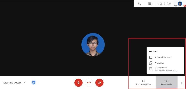 Presentasi Google Meet
