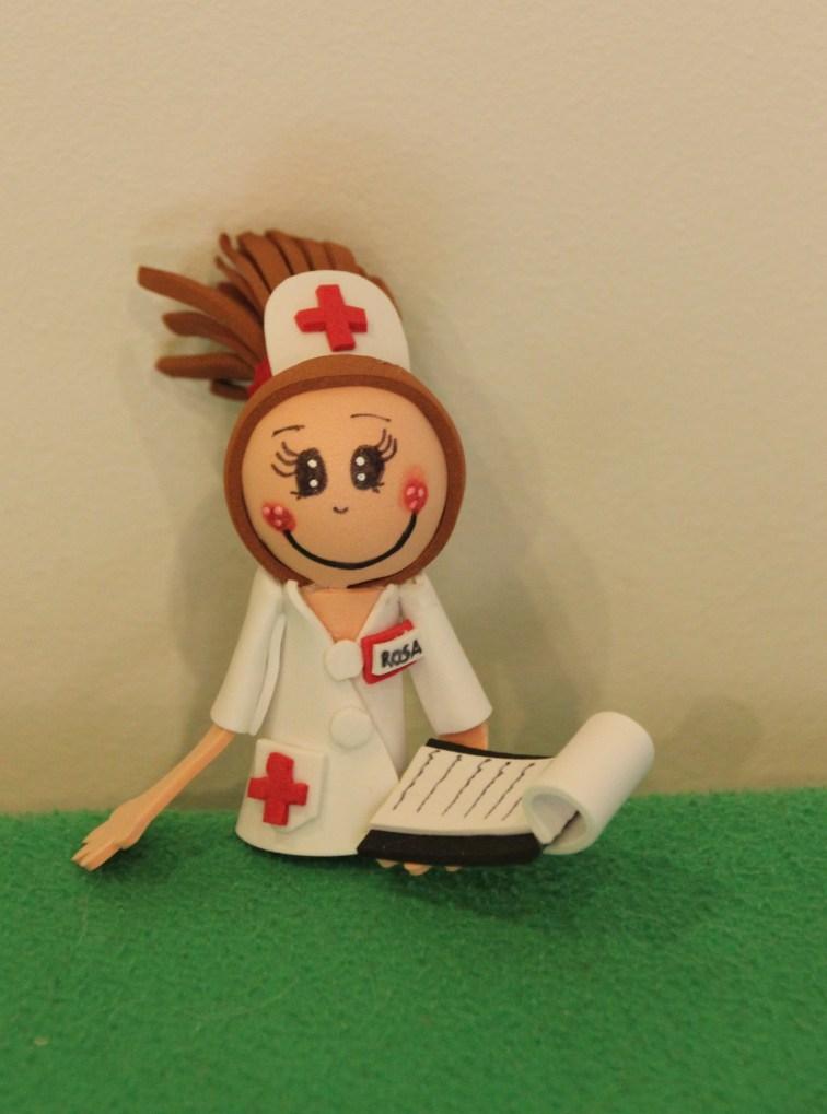 Broche-lapicero enfermera