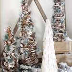 Holiday Tour Part 1 Rustic Chic Christmas Decor Tuft Trim