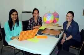 Bhakti Patel, Sarah Barr, Christina Johnson
