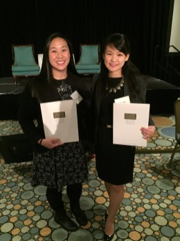 Jacqueline Liu (D19) and Melody Chou (D19)