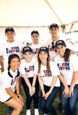 Left to right, top to bottom: Connor Van, John Calabrese, Steven Tucker, Sunnie Kuna, Courtney Silva, Lauren Hagspiel, and Jossana Rasla (D19s)