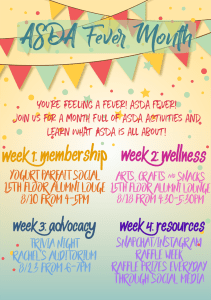 ASDA Fever Week 2 - Wellness @ Outside 7th Floor Lounge