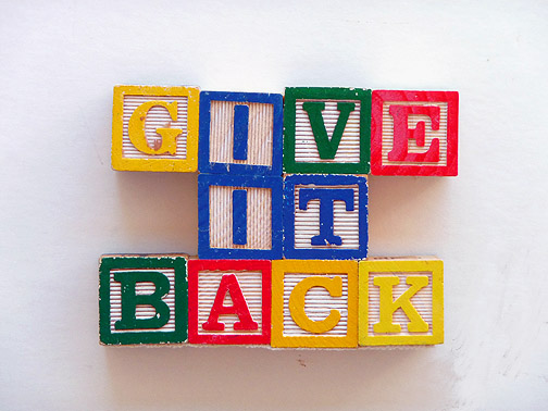Image result for give it back