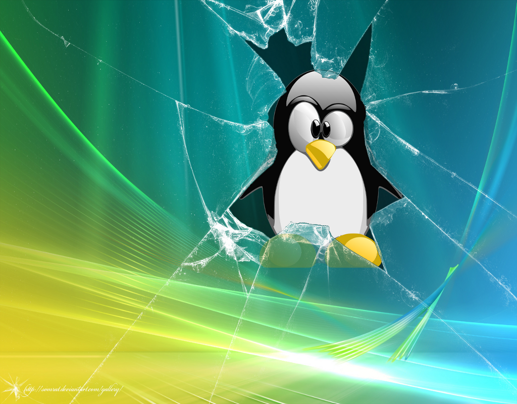 Linux Broken Vista_1024x800 - eSnips, share anything