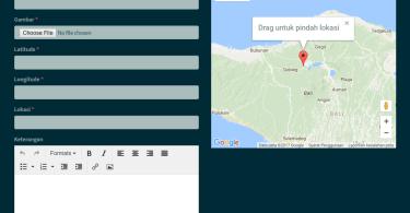 Sistem Informasi Geografis PHP
