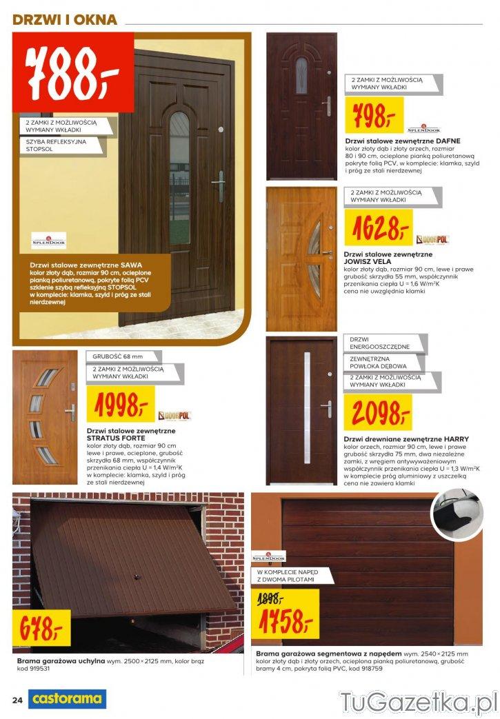 Drzwi Wewnetrzne Drewniane Castorama