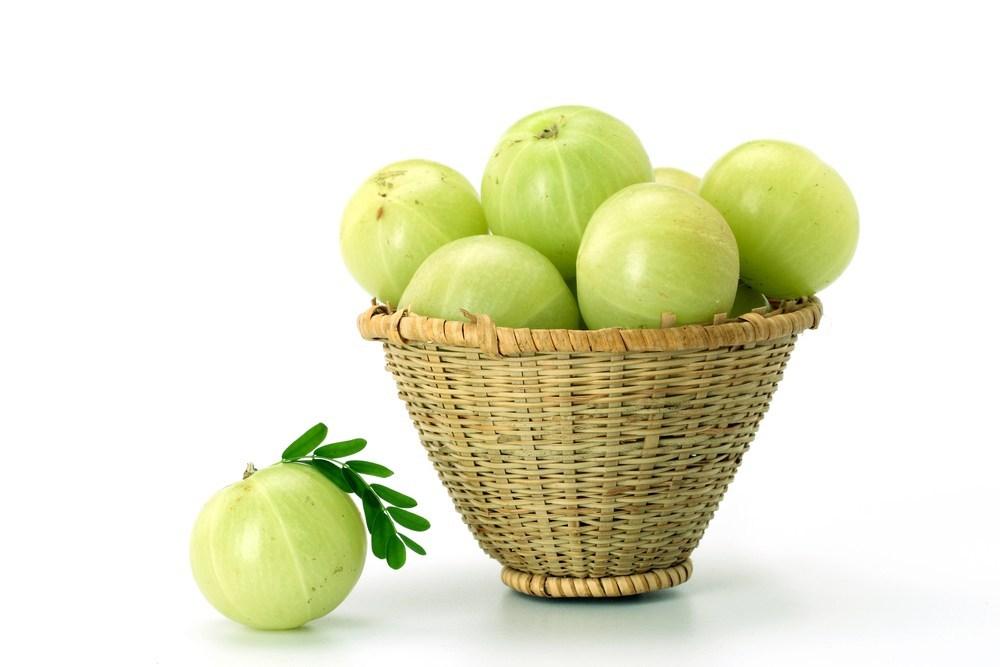 Amla Indian gooseberry for good health