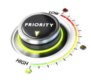 Managing Multiple Priorities