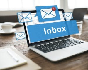 Picture of inbox