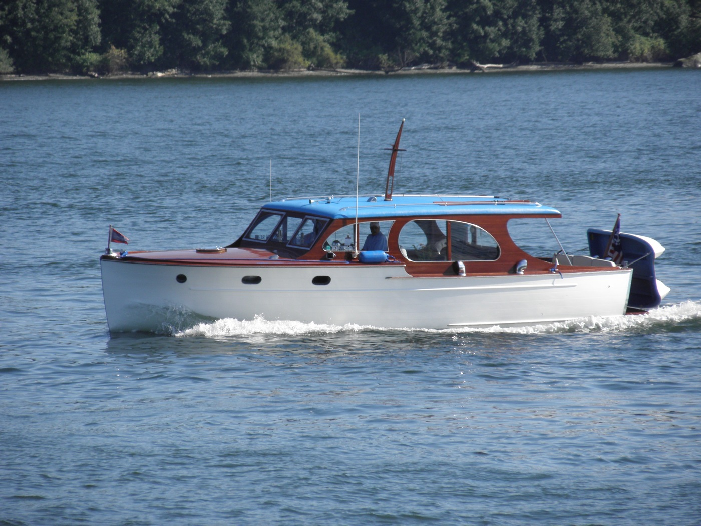 Wooden Power Boats Tugster A Waterblog