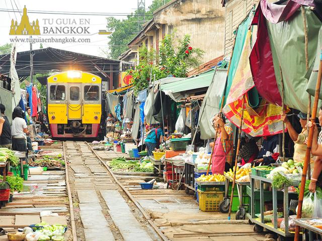 mercado del tren