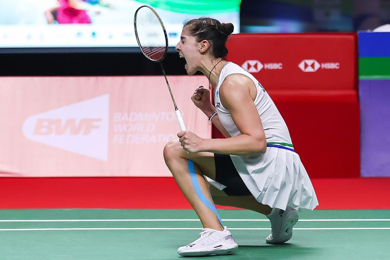 Carolina Marín gana el Open de Tailandia 2021