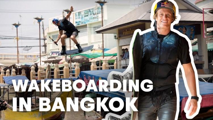 Red Bull Video Wakeboard en Bangkok - Foto Simple Wake.