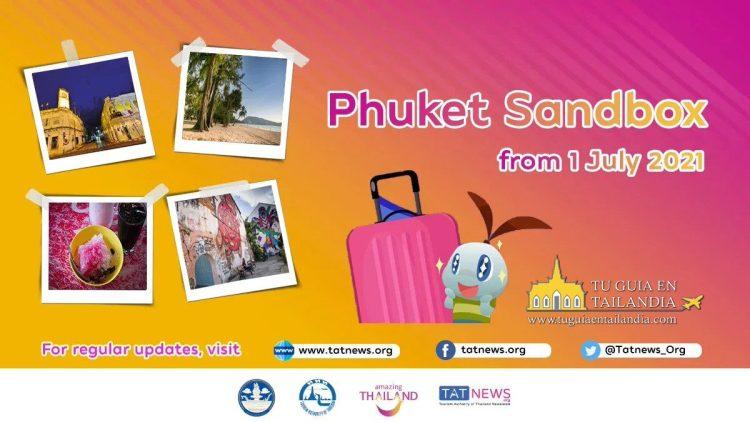 COMO VENIR A TAILANDIA EN 2021 - PHUKET SAND BOX