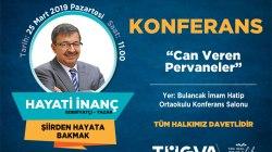 TÜGVA Bulancak'ta Hayati İnanç konferans yapacak