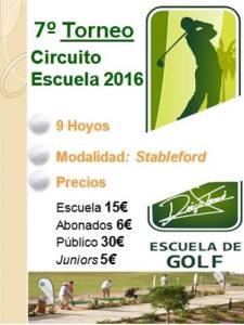 160731 SER, Cartel del torneo