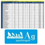 160619 AGU, Clasificación del torneo