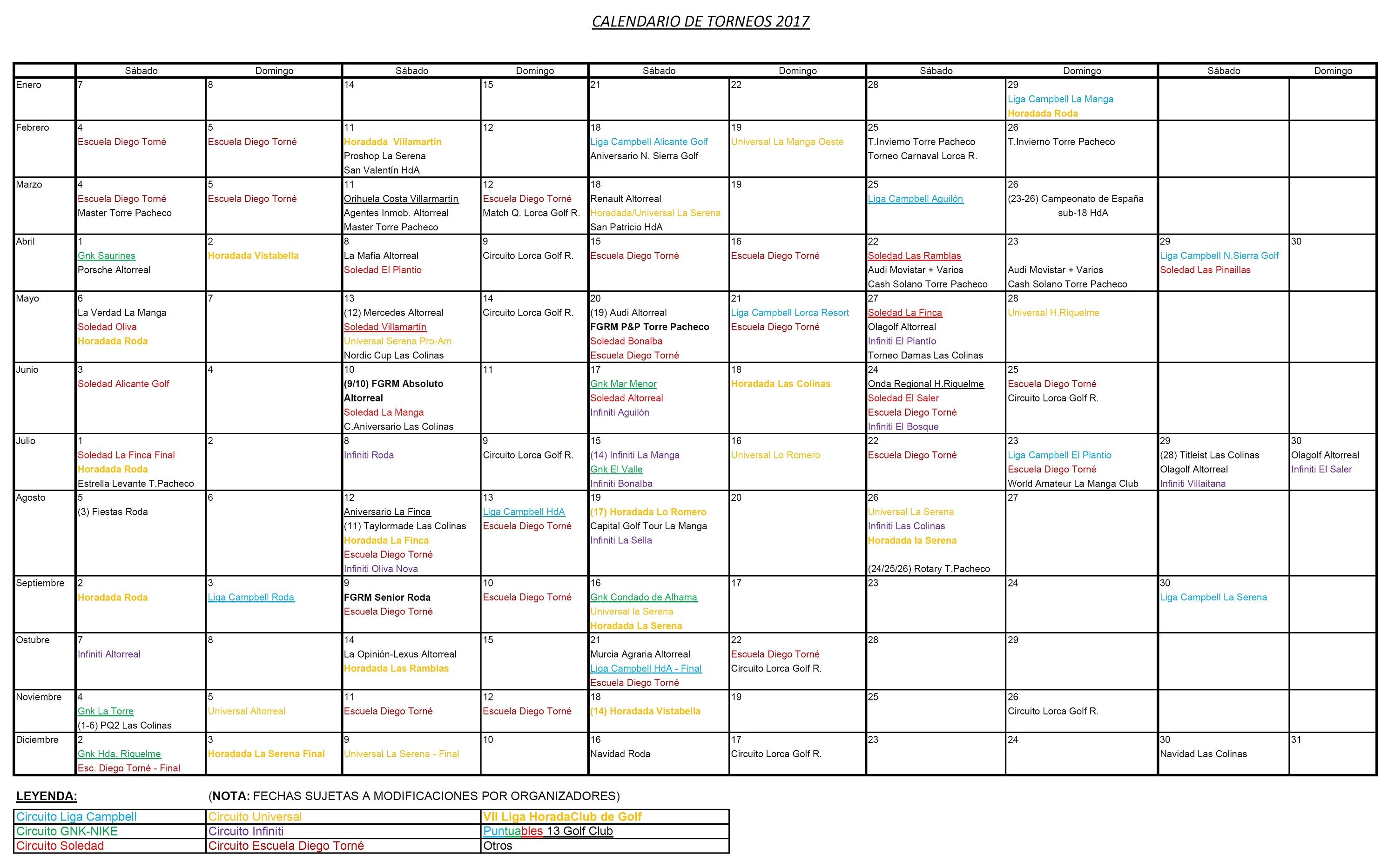 170314 Calendario Torneos