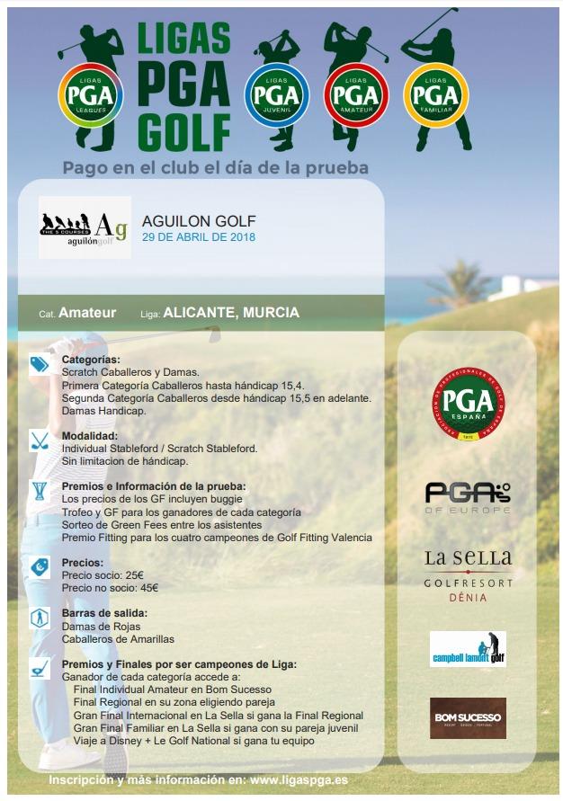 180429 AGU, Cartel del torneo