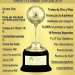 190713 FON, Cartel del torneo