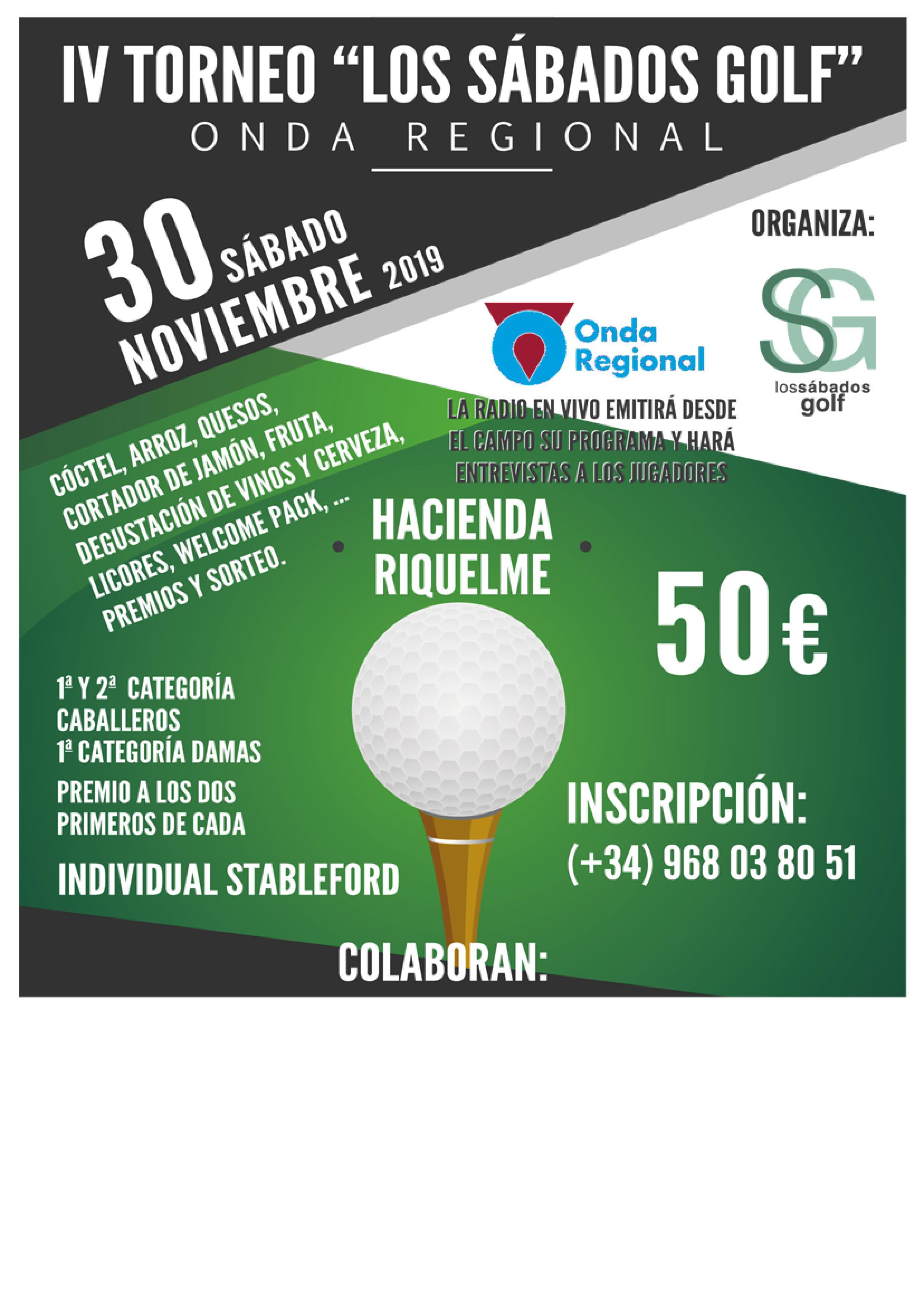 191130 HRI, Cartel del torneo