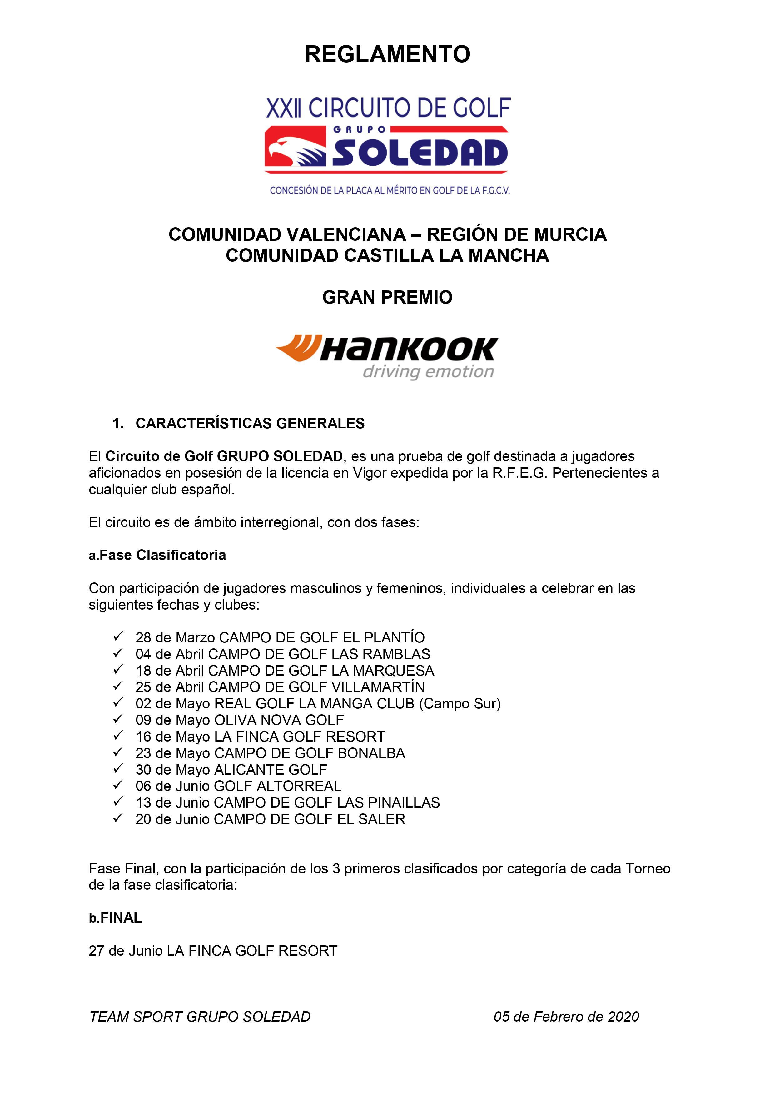 200328 PLA, Reglamento del circuito (1)