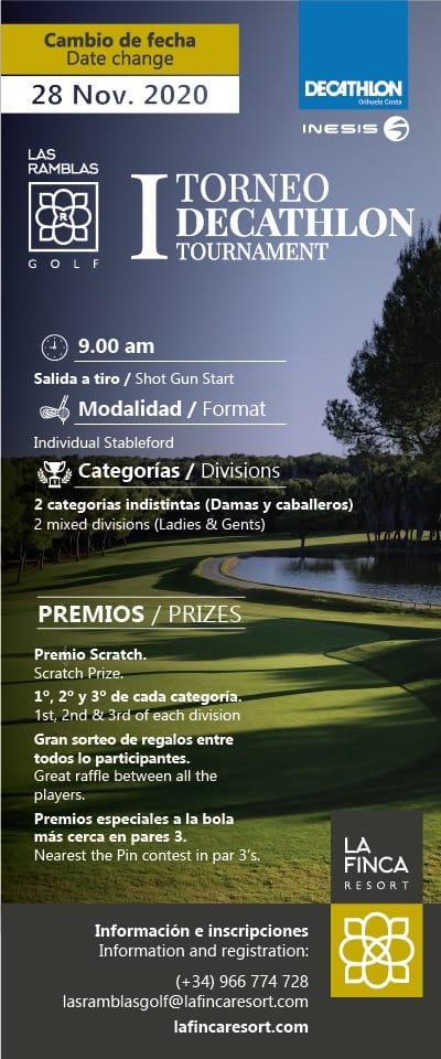201128 RAM, Cartel del torneo