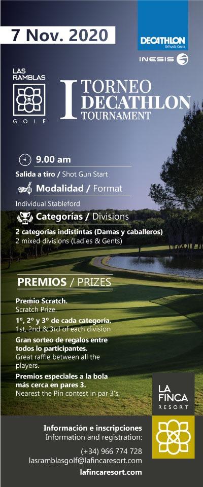 201107 RAM, Cartel del torneo