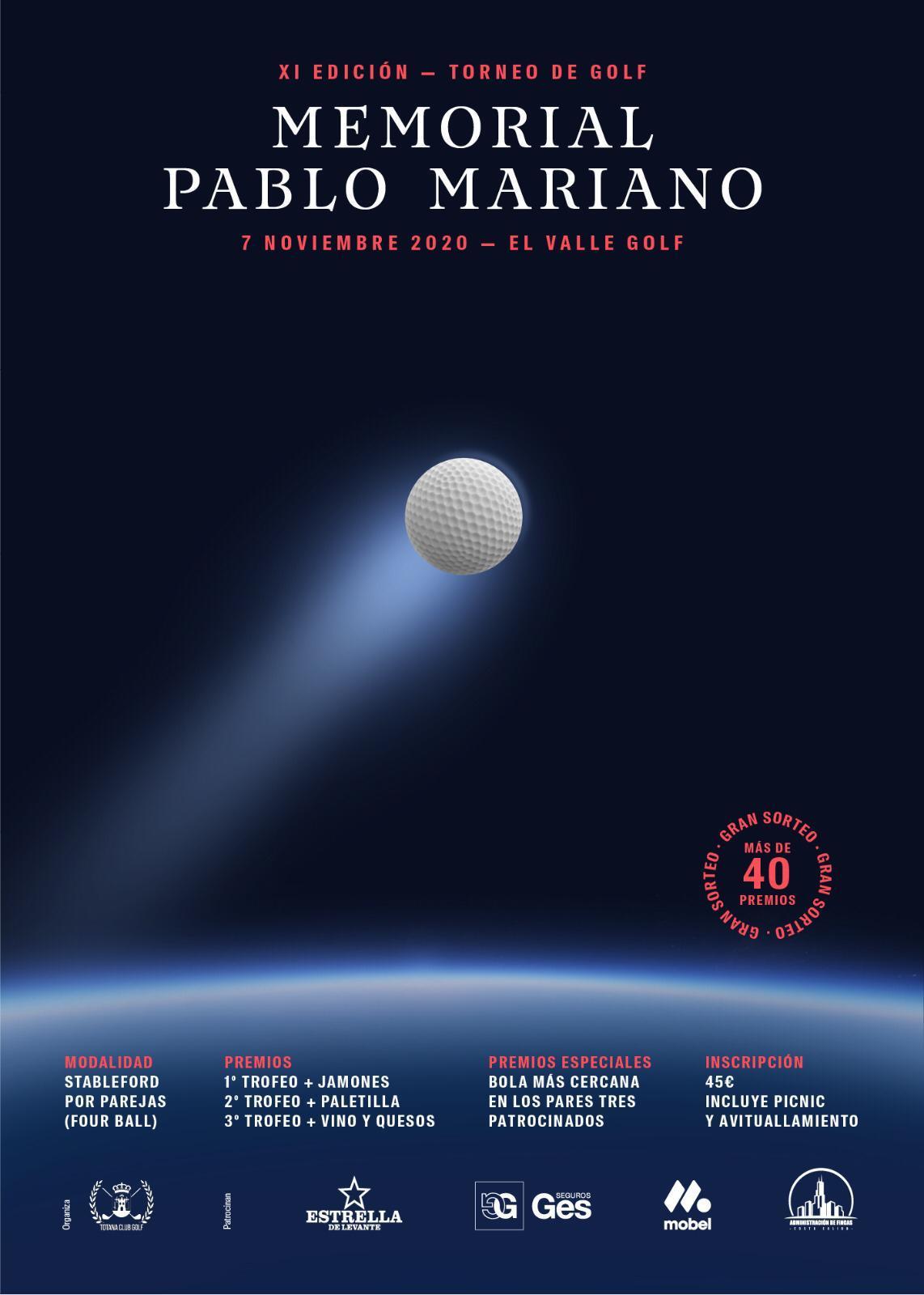 201107 VAL, Cartel del torneo