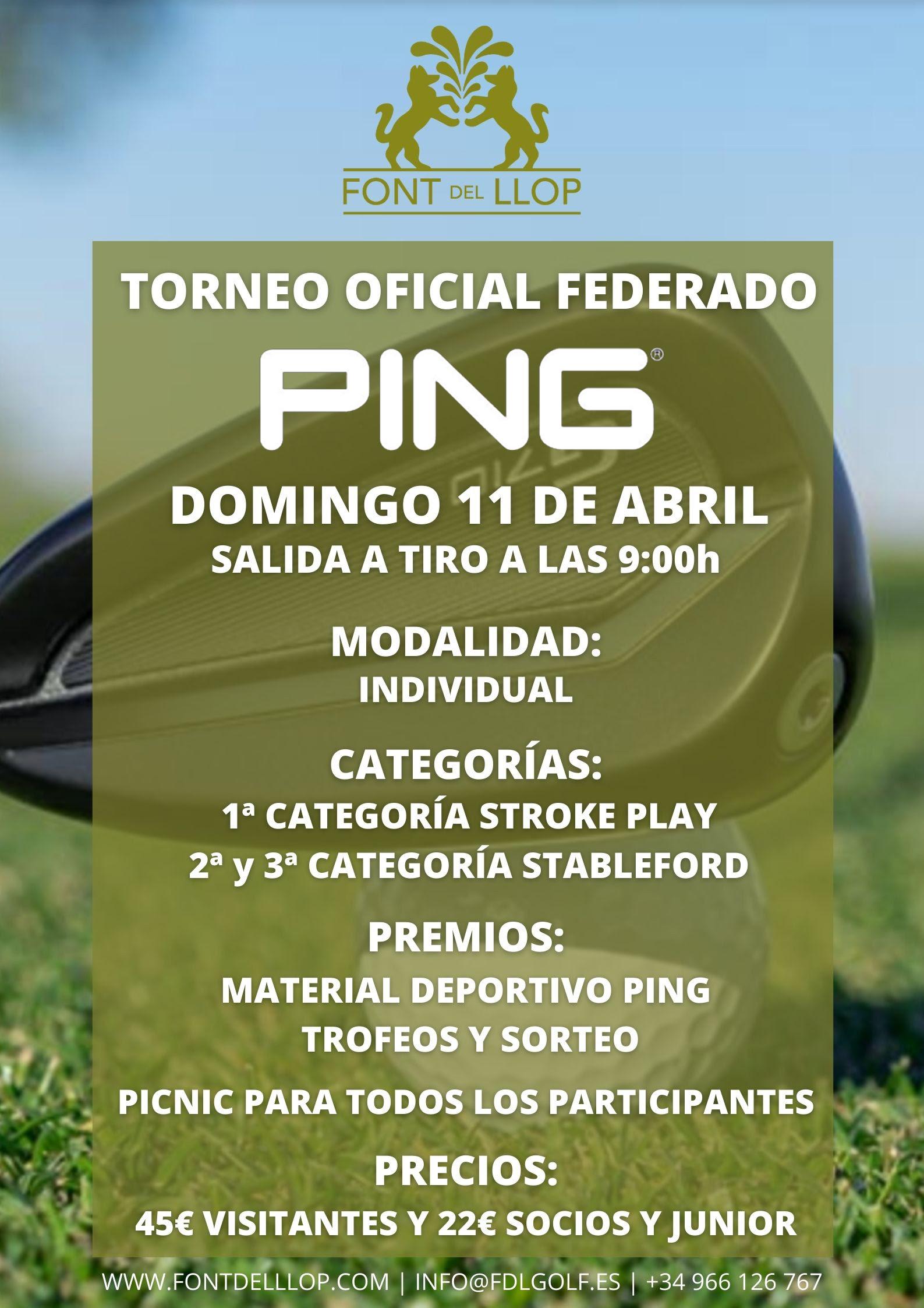210411 FON, Cartel del torneo