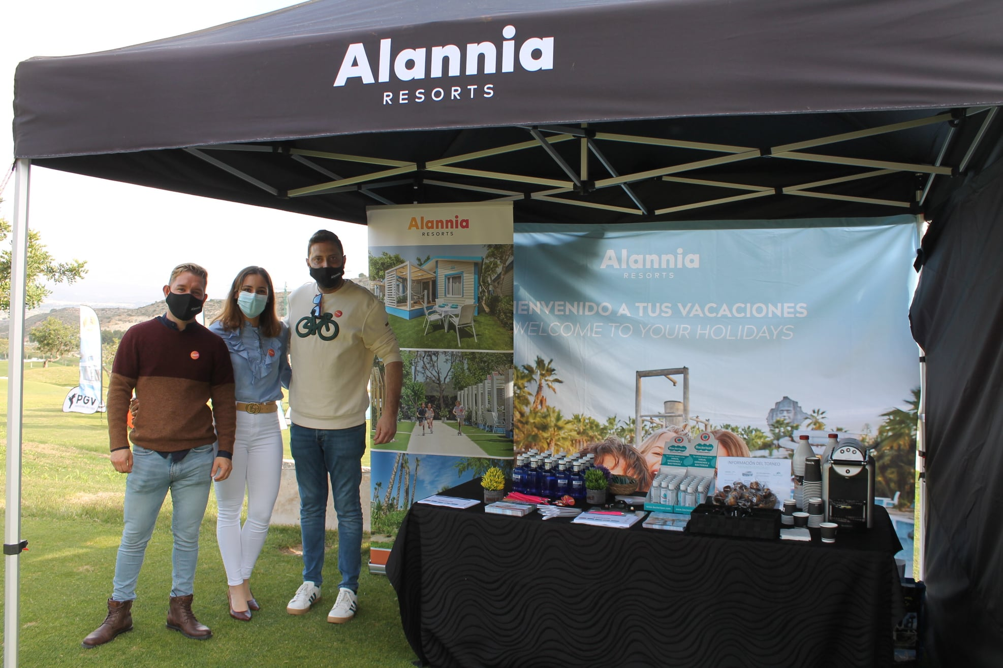 210502 FON, carpa de bienvenida «Alannia Resort»