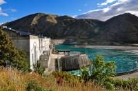 Un des nombreux barrages sur la Waitaki River