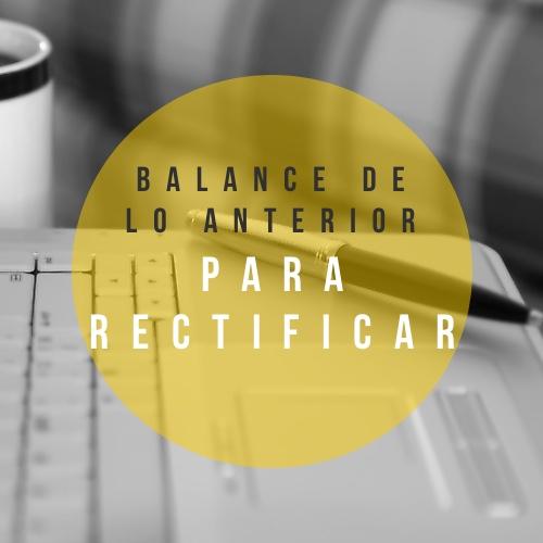 Un balance práctico de tu vida (parte 2)